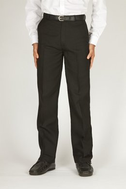 Senior Boy's Flat Front Trousers (TFF) by Trutex
