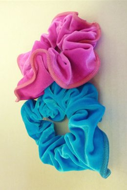Velvet Gymnastic Hair Scrunchies