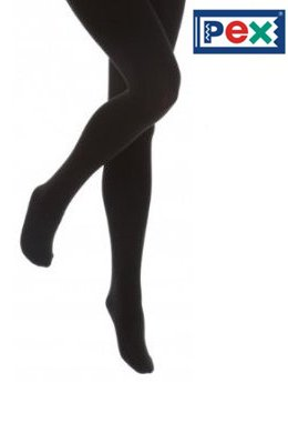 Cotton Rich Tights in Black